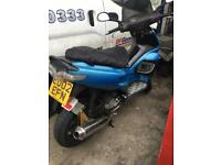 Gilera runner 210 reg as 125 swap px cash
