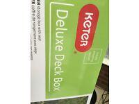 Keter Deluxe Deck Box
