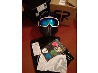 Ruroc RG1-DX Ski/Snowboard Helmet VOID Limited Edition #16/500 - NEW