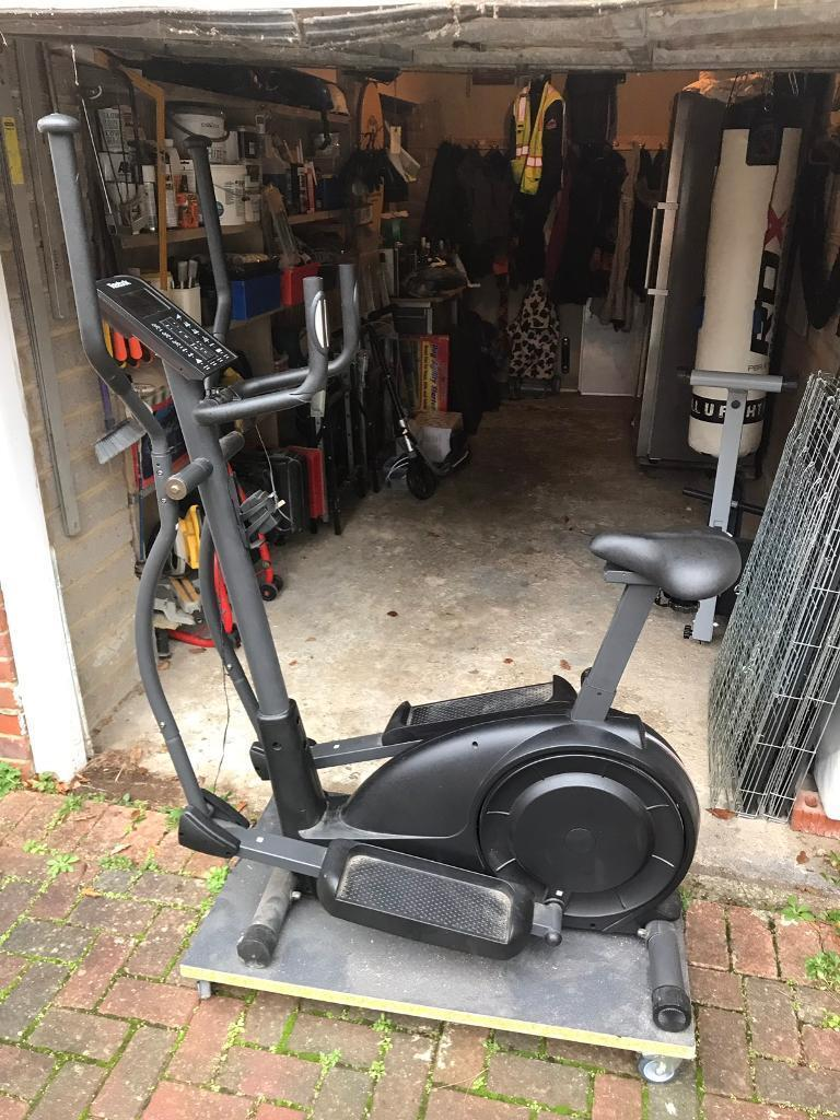 88f427af84d Reebok 2-in-1 Cross Trainer and Exercise Bike