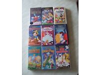 Walt Disney Classic VHS Cartoon Films 18 to choose from - £1 each. Free Delivery within Dunfermline