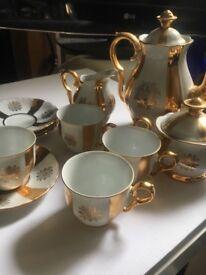 Antique China Tea Set Czechoslovakia China