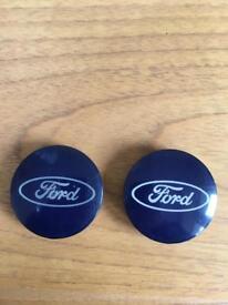 Ford wheel centre badges