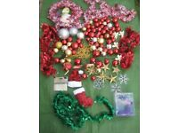 Bag of Assorted Christmas Tree Decorations for £5.00 - BAG TWO