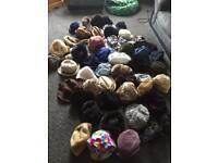 Assortment of mixed hats