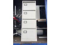 4 Drawer Lockable Metal Filing Cabinet with key , Suitable for office