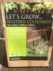 Let's Grow Wooden Coldframe