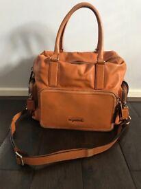 Sugar Jack luxury leather changing bag