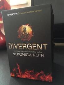 Divergent full book series