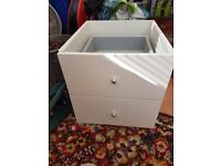 Expedit 2 Drawer Storage Unit - White