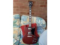 Epiphone SG Worn Cherry very good condition