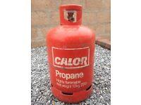 ****CALOR GAS PROPANE 13KG CYLINDER - FULL****IDEAL WINTER SPARE - BARGAIN BUY****