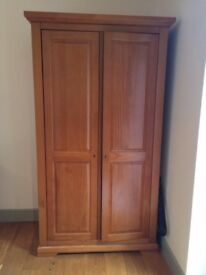 Solid Oak M&S Wardrobe - *Used but great condition*