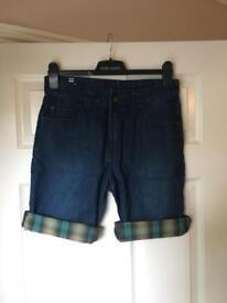 Mens Billabong Denim Shorts - W30