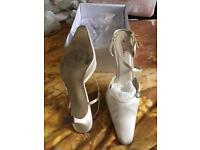 Cream shoes size 7.5