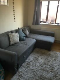 L- shaped Sofa Bed Great Condition