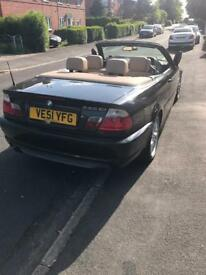 Bmw 330i sport convertible with hardtop