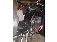 125cc motorbike with 12 months mot