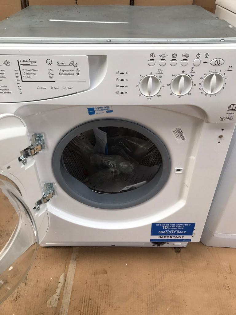 Brand new indesit integrated washer dryer CURRYS PRICE £345
