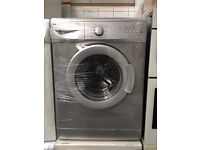 BEKO free standing washing machine silver in good condition & fully working order