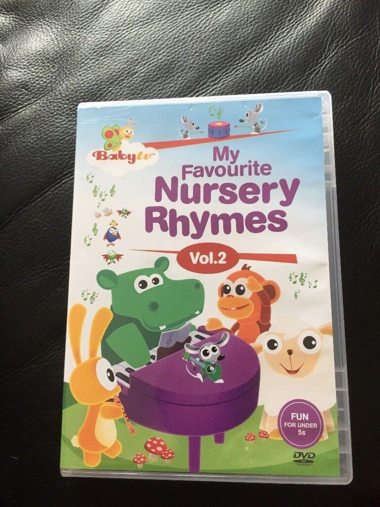 Baby Tv My Favourite Nursery Rhymes Vol 2 Dvd