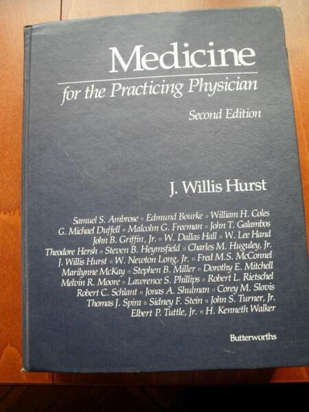 Medicine for physician J.W Hurst