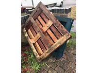 2 wooden pallets FREE for collection