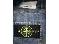 Authentic stone island jeans