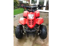 SOLD. Childs quad bike 4 stroke 110cc as new