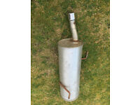 peugeot 206 rear exhaust box