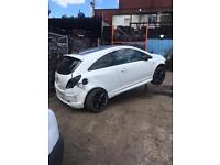 Breaking Vauxhall corsa 2014 limited edition