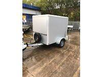 Tav1 box trailer braked . 6x5x5