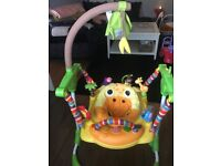 Mothercare baby safari bouncer - almost new