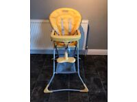 Graco high chair for sale.