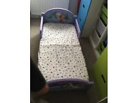 Toddler bed and Matress Frozen