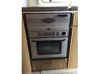 Caravan oven job & sink unit