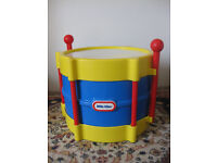 LITTLE TIKES DRUM (£13 from Amazon) & free zylophone - BARGAIN