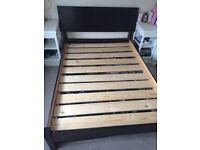 Solid Wood Double Bed Frame from Warren Evans