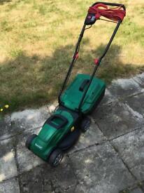 Qualcast electric lawnmover