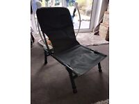 Badger Folding Fishing Seat Chair - Ideal For Camping Or Carping