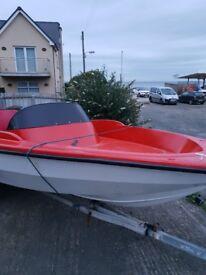 17ft shekspere boat 75hp yamaha sell or swap