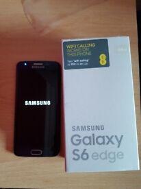 Samsung galaxy s6 edge mint condition