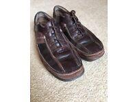 Clark's Brown Shoes UK 10
