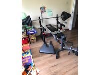 Bodymax weights bench rack