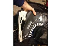Ice Hockey Skates - Bauer Supreme 105 One 05 UK 11.5 - Good Condition - TUK Lightspeed Pro Fasteel