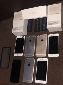 iPhone 6 spares phones and parts x4 All unlocked
