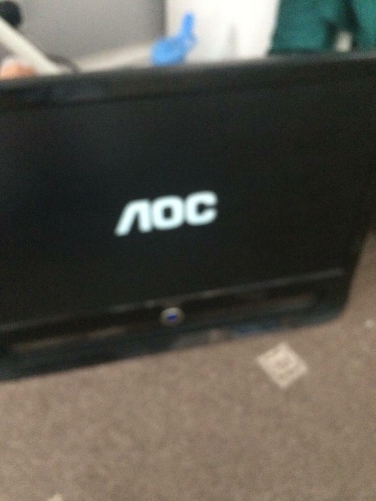 "Aoc computer monitor 21"" | in Birmingham City Centre, West Midlands |  Gumtree"