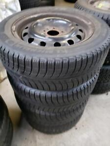 "winter kit 16"" 5x114 Honda with 215/55r16 used tires"