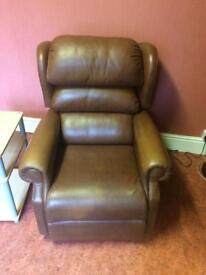 Brown Harmony Rise & Recline Disability Mobility Chair