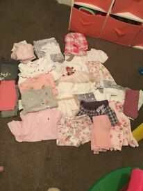 Girls clothes 12-18 and 18-24